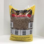 Orange Wood Pellets for Grills