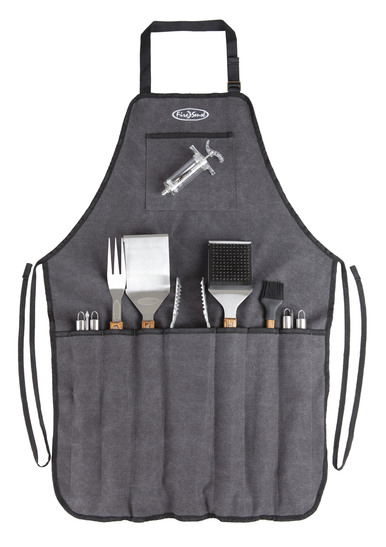 Elite Stainless Steel BBQ Tool Set