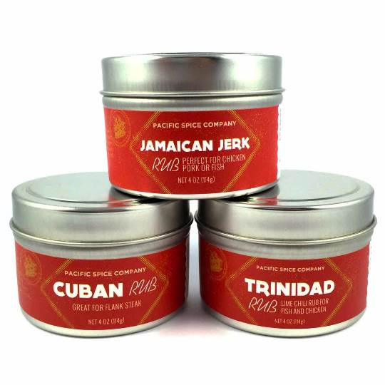 Carribean BBQ Rub Gift Set