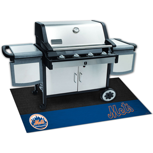 New York Mets MLB Vinyl Grill Mat