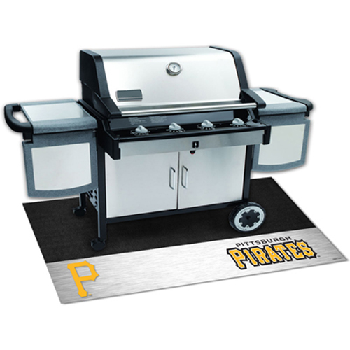 Pittsburgh Pirates MLB Vinyl Grill Mat