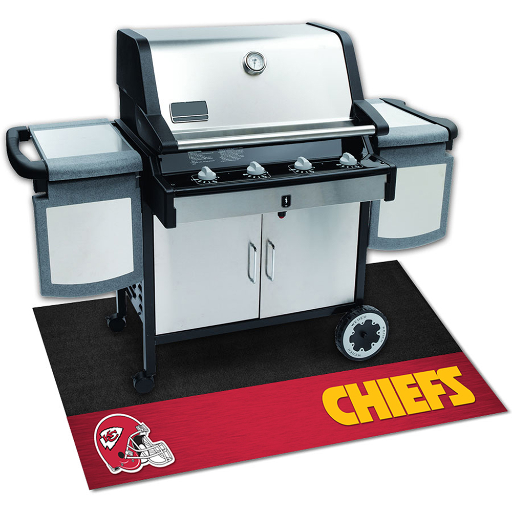 Kansas City Chiefs NFL Vinyl Grill Mat