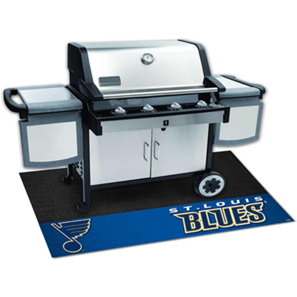 St. Louis Blues NHL Vinyl Grill Mat