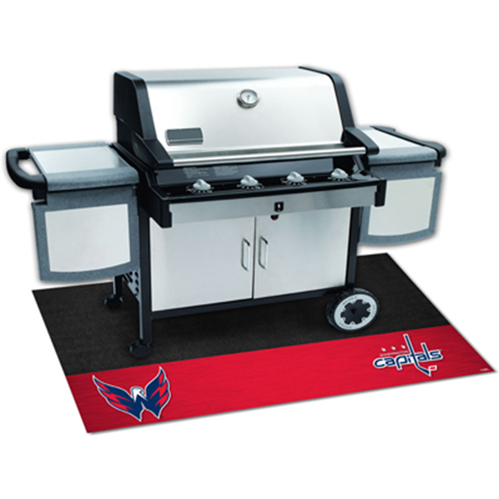 Washington Capitals NHL Vinyl Grill Mat
