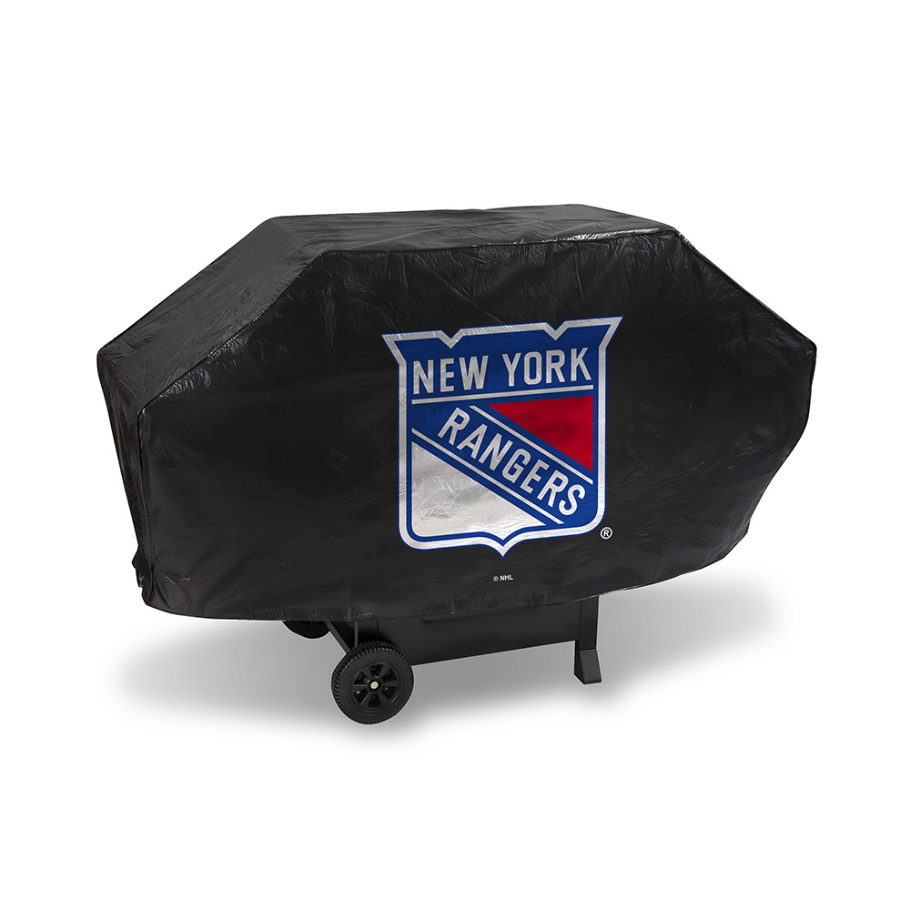 New York Rangers NHL Deluxe Barbeque Grill Cover