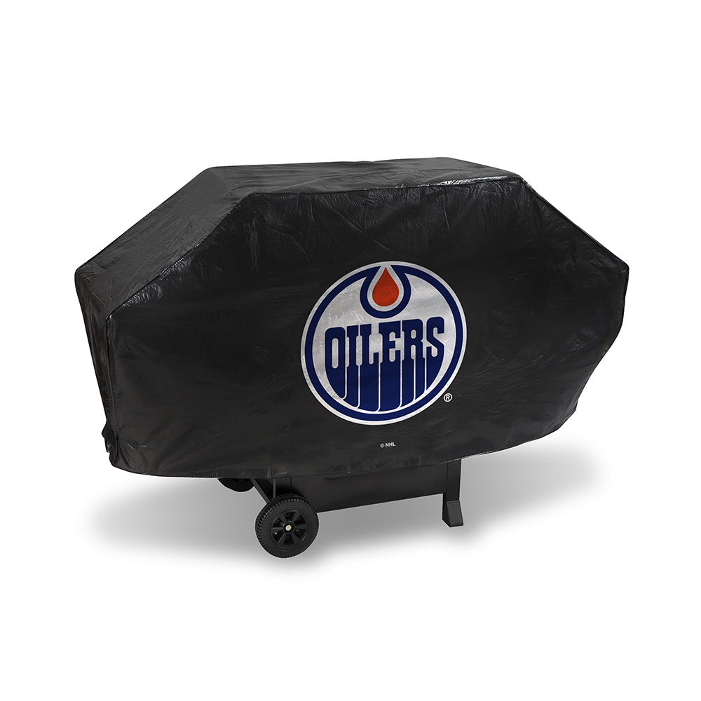 Edmonton Oilers NHL Deluxe Barbeque Grill Cover