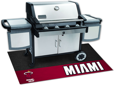 "NBA - Miami Heat Grill Mat 26""""x42"""""