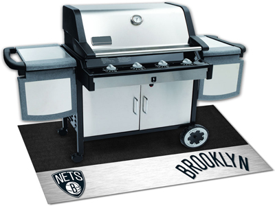 "NBA - Brooklyn Nets Grill Mat 26""""x42"""""