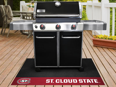 "St. Cloud State Grill Mat 26""""x42"""""
